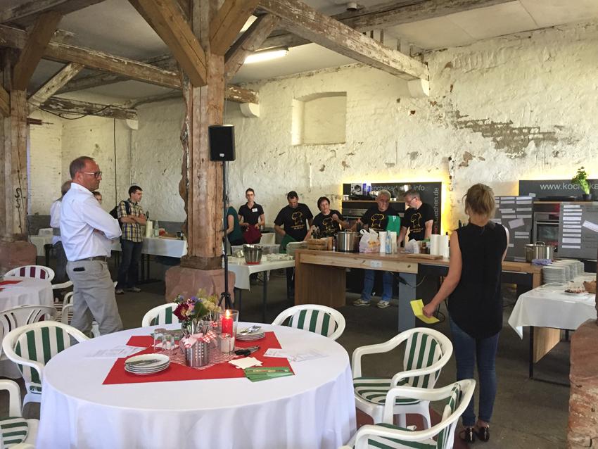 Küchenschlacht auf dem Baiersröderhof zum Abschluss des fünften Regionalen Geschmacksfestivals