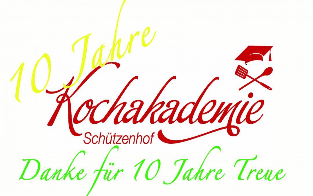 10 Jahre Kochakademie Schjützenhof
